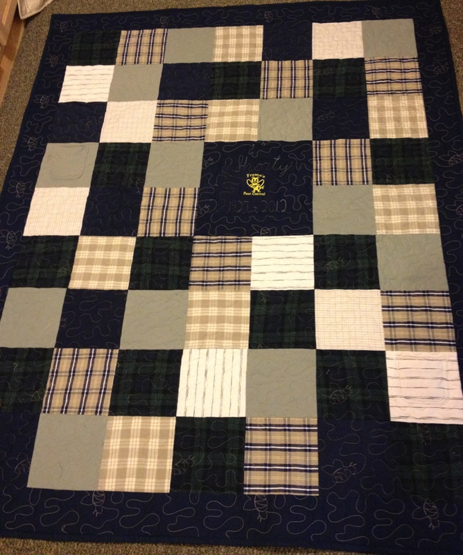 Sylvania Quilting - Memorial Quilts : quilt made out of t shirts - Adamdwight.com
